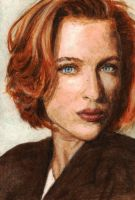 Agent Dana Scully by radarlove413