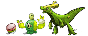 Sponge Fakemon by T-Reqs