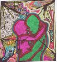 Psychedelic Love by HybridMoments77