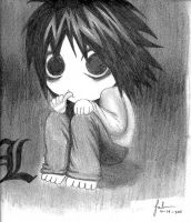 L Lawliet by jamesnidea