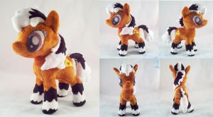 Epona Pony Plush by dolphinwing