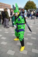 Perfect Cell Cosplay , Dragonball Z by masimage