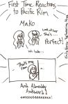 Pacific Rim Doodles: Mako by TheSwearingMime