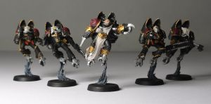 Chaos Space Marine Raptors by chaotea