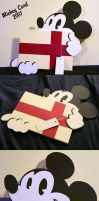 Mickey Greeting Card by PunkBouncer