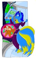 christy in space by large-rarge