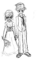 Goth Married by FragileIdyle