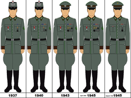 The History of a German Policeman by bar27262