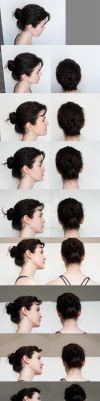 Head Turnaround - Top to Bottom Profile by RobynRose