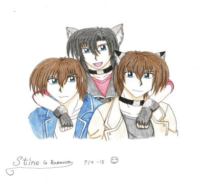 Wolf Brothers all together by Shalialove