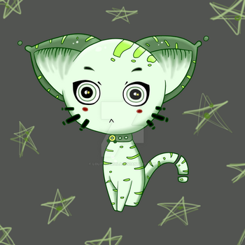 Ufo Cat by LolitaTequila