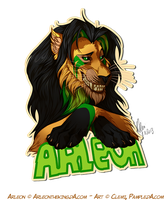 Badge Arleon by Pample