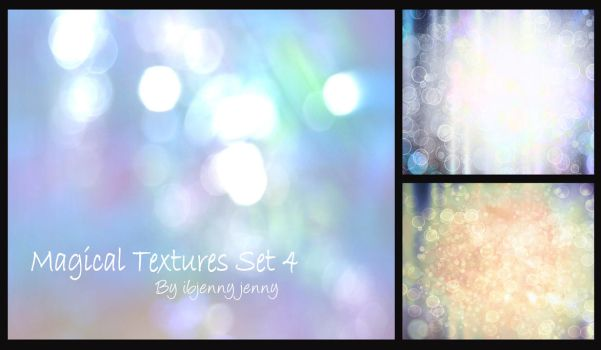 Magical Textures 4 by ibjennyjenny