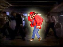 Mario it's a smooth criminal by santiw93