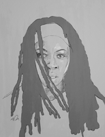 Michonne by athingthatexists