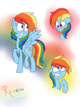 Rainbow Dash by RoseTheKitty11