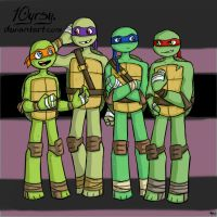 Turtles by 10yrsy