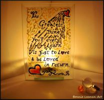 Love and Be Loved In Return by Bonniemarie