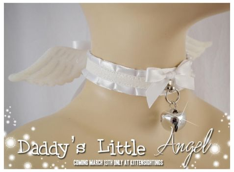 Angel Wing Collar by jezebelwitch
