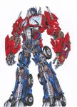 optimus prime by atommo