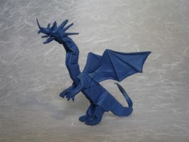 Western Dragon tant by origami-artist-galen