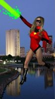 Ms. marvel  Dark Avenger by cattle6