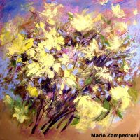 Original flower painting by zampedroni