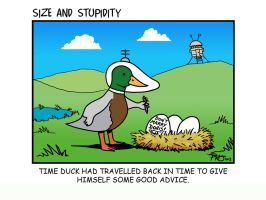 Time Duck returns by Size-And-Stupidity