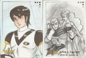 Voltron cards 3 by AmberStoneArt