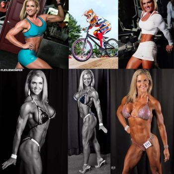 Daily Fitspiration Leslie Momper by zenx007
