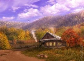 Autumn in style T.Kinkade by warianta
