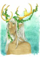 The Faun by m0rning-gl0ry