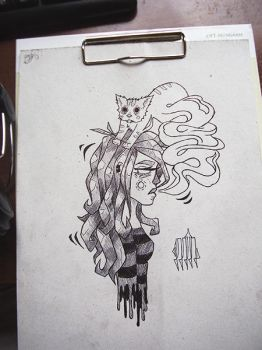 Cat soul sister by csillagszooroo