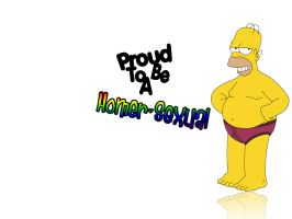Homer Sexual by Wocker