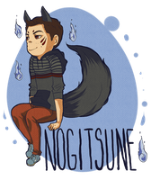 Teen Wolf - cute fox by Bisho-s
