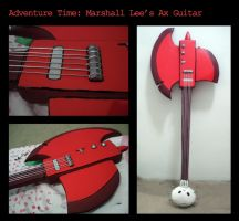Marshall Lee's Ax Guitar by OsirisMaru