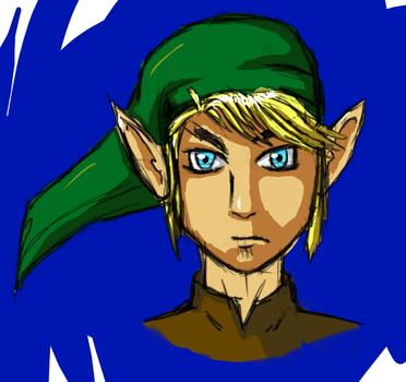 Link Cel Shaded by marnicqvl
