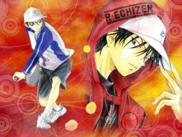 WALLPAPER ECHIZEN RYOMA by RainboWxMikA