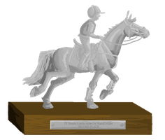 Petplan Sussex Horse Trials Trophy - Second Place by femalefred