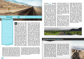 Magazine Pages Design by FirstLine1