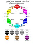 Apple System Colors RGB - newsletter by StevenLipton