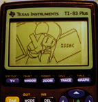 Issac on a calculator? by dragonack27