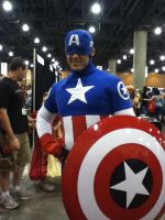 Captain American at Phoenix Comicon 2012 by saki-senpai
