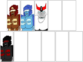 My tf ocs in id forms!! by liongirl2289