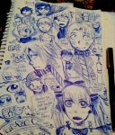 Yeah school sketches! by cmbmint