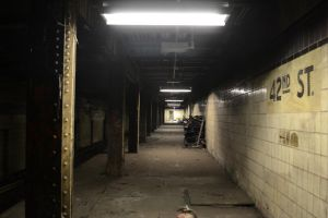 Abandoned 42nd Street Station by Demidism