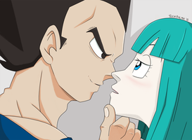 DBZ -- We Found Love by TeenBulma