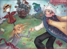 Howl's Moving Castle by StarMasayume
