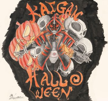 KAIGAN!!! Halloween!!! by ArkAges