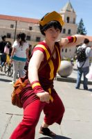 Fire Nation Toph by agentsakur9